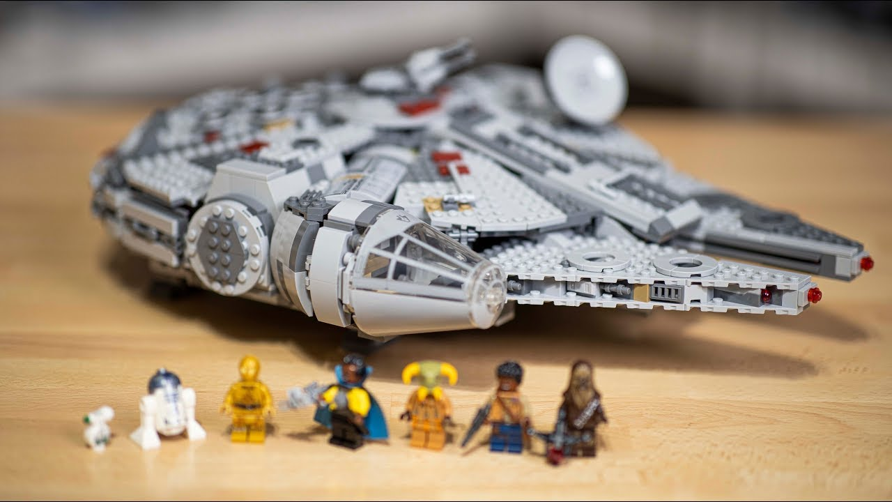 Lego Star Wars 2019 Millennium Falcon Review 75257 Youtube