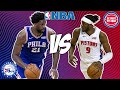 Philadelphia 76ers vs Detroit Pistons 10/28/21 Free NBA Pick and Prediction NBA Betting Tips