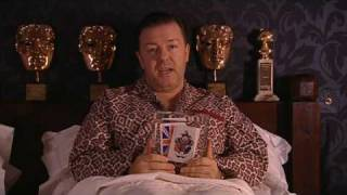 Ricky Gervais in bed with George Michael