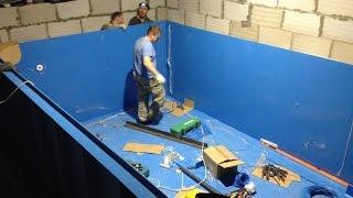 Изготовление полипропиленовой чаши 5*3*1,5 м(Иногда бывают не совсем подходящие условия для строительства бассейна, я бы сказал-сложные. info@laguna-pool.ru..., 2017-02-22T19:08:06.000Z)