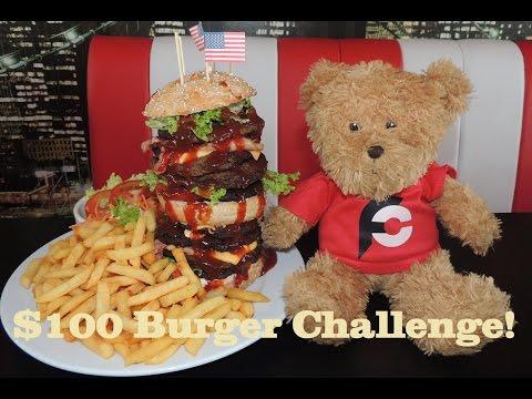 $100 Rocky Mountain Burger Challenge in Belgium!