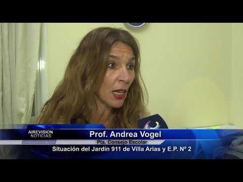 Andrea Vogel Situacion del Jardín 911 de V A  y E P  Nº 2