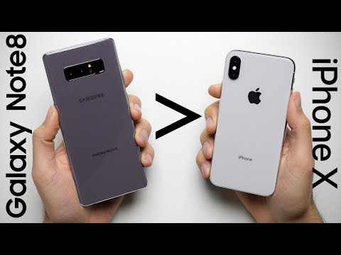 25 Reasons Why Galaxy Note 8 Is Better Than iPhone X