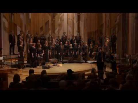 """USC Thornton Chamber Singers: """"True Colors"""" arr. by Saunder Choi"""