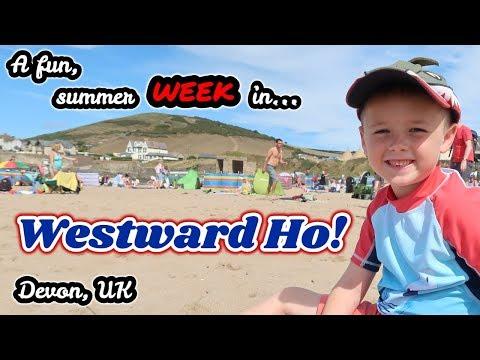 A Week In Westward Ho! | Devon | August 2018