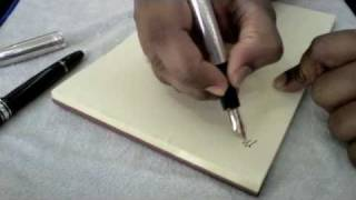 Montblanc Meisterstück Sterling Silver Solitaire Barley Fountain Pen Review