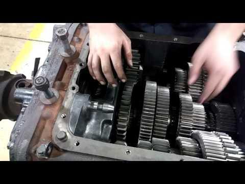 Eaton fuller manual transmission power flow