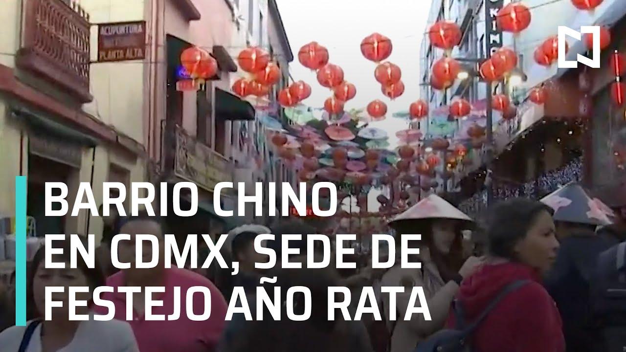 Festejos por Año Nuevo Chino 2020 Rata, en el Barrio Chino en CDMX - Las Noticias