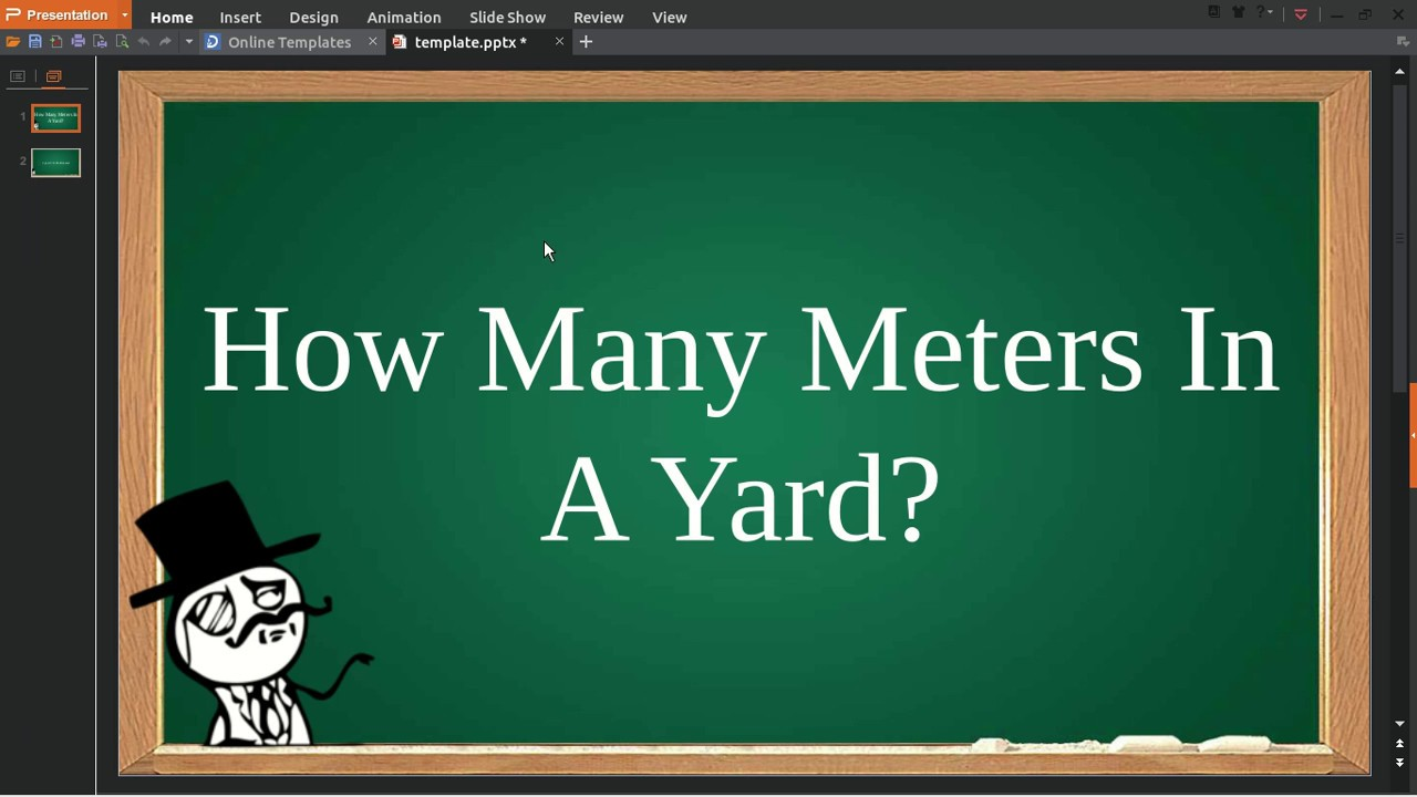 How Many Meters In A Yard - YouTube
