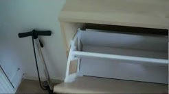 IKEA Bissa shoe cabinet : (a look at)