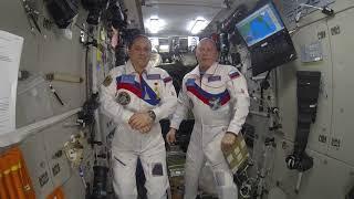 Экипаж Международной космической станции поздравляет российскую команду SMP Racing