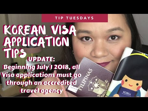 Korean Tourist Visa Application Tips | Tip Tuesday
