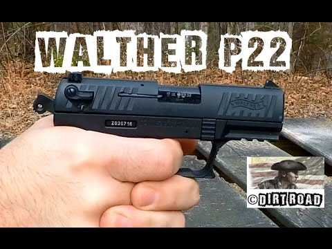 walther p22 shooting review youtube