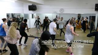 House with Marko - Pineapple Dance Studios