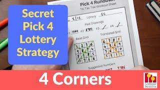 Secret Lottery Strategy To Win Pick 4 - February 2019
