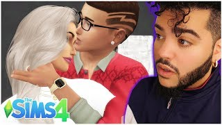 TEEN SIMS FIRST HOOKUP - The Sims 4 #9