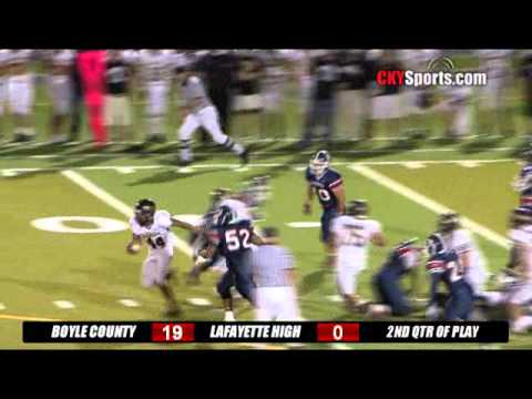 Boyle County Rebels Highlights - 5 STAR RECRUIT - LAMAR DAWSON
