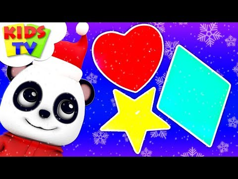 learn-shapes-with-santa-|-christmas-songs-for-kids-|-+-more-xmas-carols---kids-tv