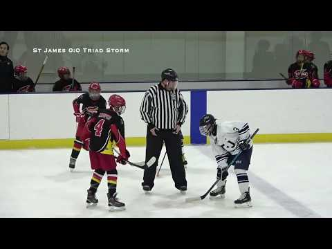 St James 12U Gold AA vs Triad Storm 12U Black - Game 1 - Nov 23rd 2019 from YouTube · Duration:  49 minutes 27 seconds