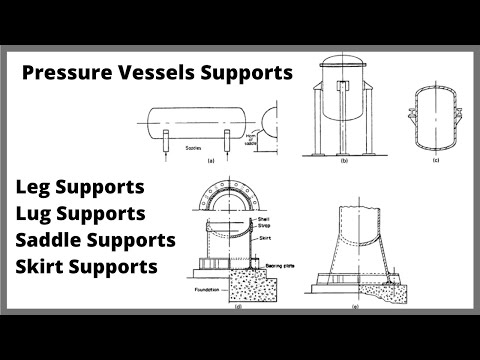 Pressure Vessel Fabrication| Vessels Supports Detailing | Part-7 | Let'sFab