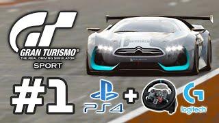GRAN TURISMO SPORT + Logitech G29 = Still the SIM Racing for 2021?? Gameplay Walkthrough - Part 1