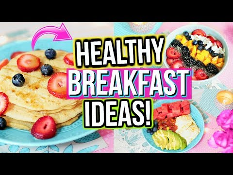 Healthy Breakfast Ideas For School! | Jessica Reid