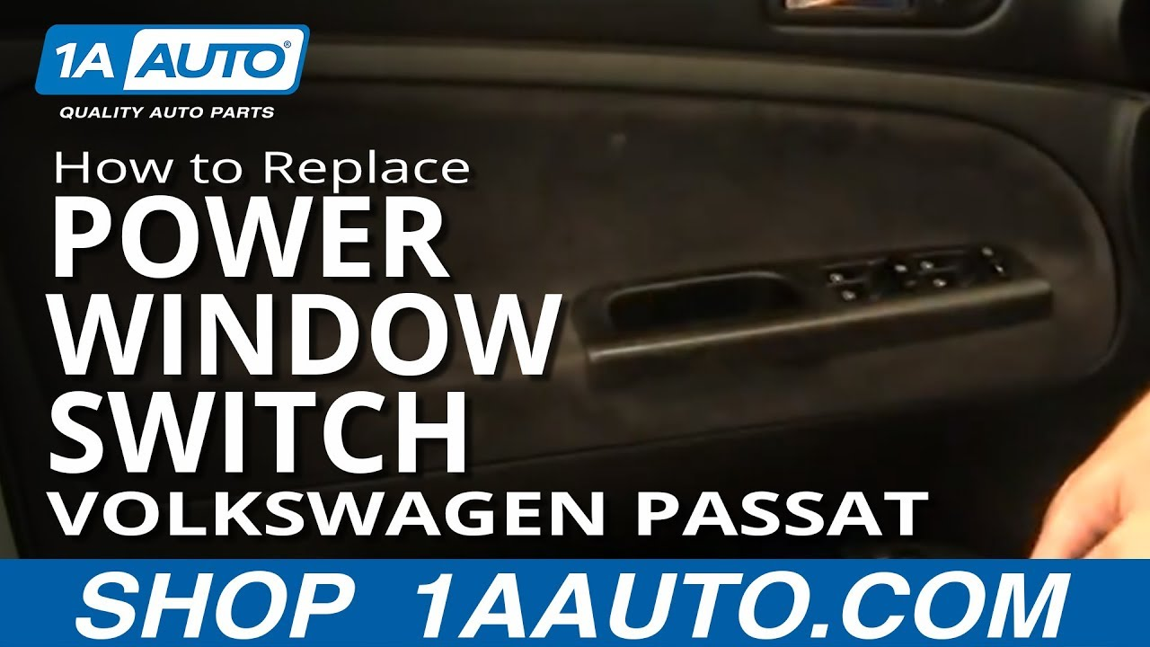 How To Install Replace Master Power Window Switch