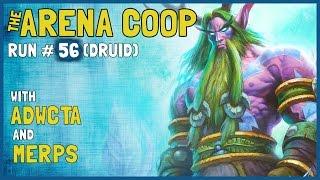 Hearthstone - Arena Coop - Run #56 (Druid) [Part 1]