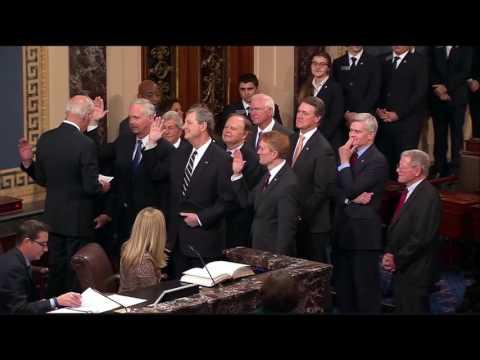 Senator Lankford Sworn-In for 115th Congress