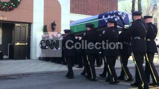 NYPD OFFICERS KILLED: RAMOS WAKE-CASKET PROCESSION