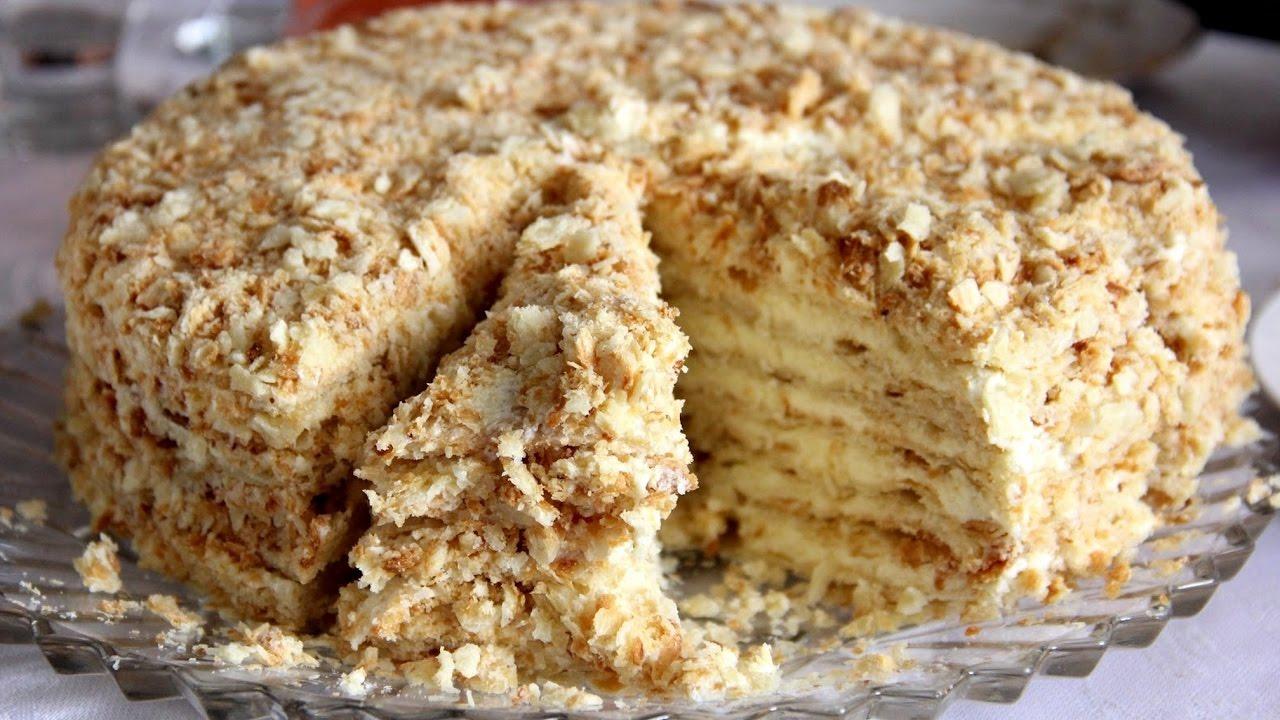 как готовить наполеон торт в домашних условиях