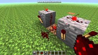 Как сделать пулемёт в minecraft!(В этом видео показывается как сделать пулемёт(в раздатчик можно засунуть стрелы)! Кому не жалко перекинте..., 2013-02-02T17:55:33.000Z)