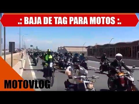 MARCHA BAJA DE TAG PARA MOTOS 2017 - MOTOVLOG - CB190R - CHILE - #19