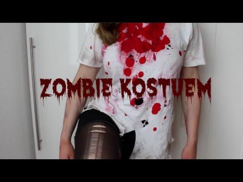 Diy Zombie Kostum I Einfach Und Lastminute Youtube