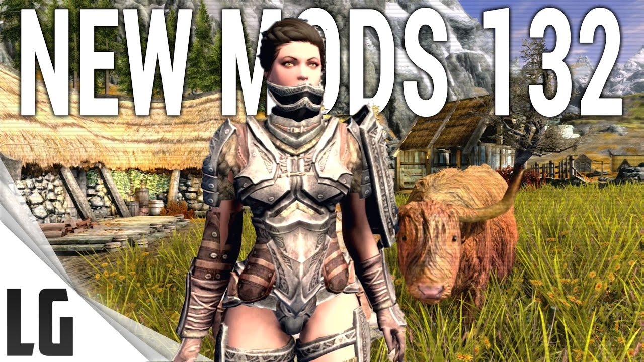 6 BRAND NEW Console Mods 132 - Skyrim Special Edition (XBOX/PS4/PC)