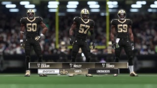 Madden NFL 19- Fantasy Drafted Franchise Owner Mode- Divisional Playoffs- SAINTS( 16-0) vs Rams(9-7)