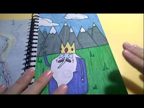 Мои рисунки Время Приключений часть 1