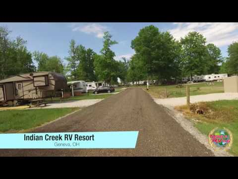 Indian Creek RV Resort, Geneva OH