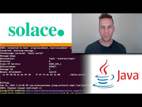 Solace Java Samples, Part 1 - Getting Started