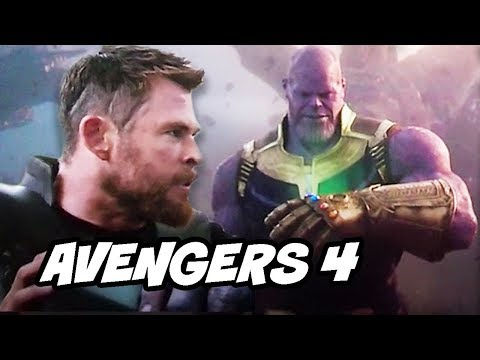 Avengers 4 Infinity War Thanos Scene - Guardians of the Galaxy 3 Explained