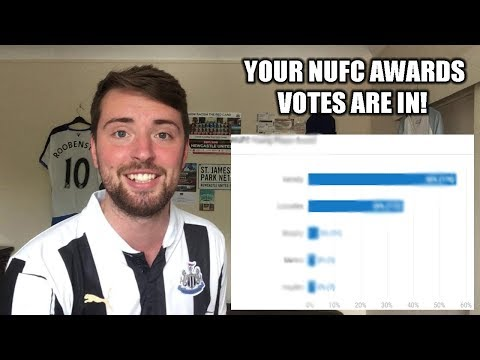 NEWCASTLE UNITED AWARDS! 17/18 SEASON - YOUR VOTES ARE IN