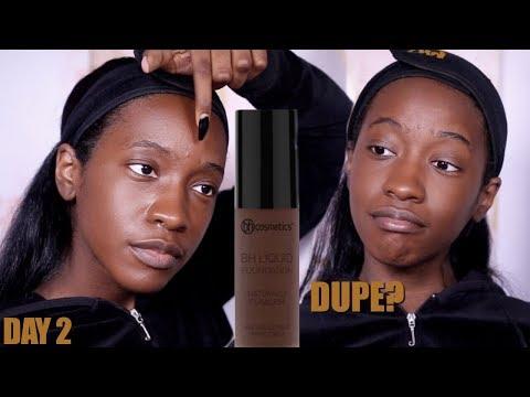 Foundation Hunt Week Day 2: BH Cosmetics Naturally Flawless Liquid Foundation (Deep Beige)