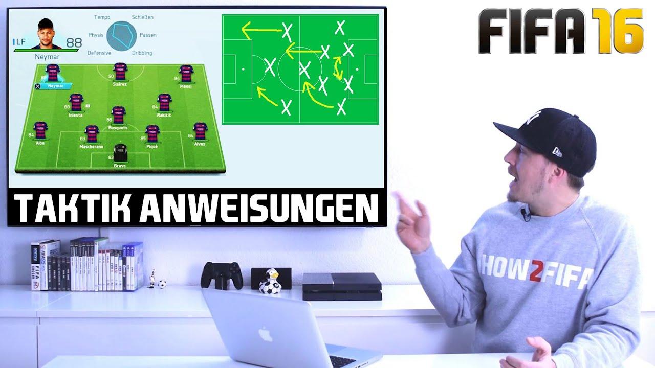 Fifa 16 Einstellungen