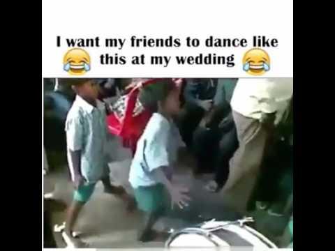Crazy dance by slum boys