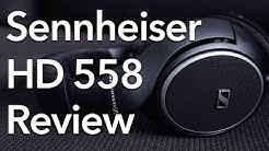 Sennheiser HD 558 Open-Back Headphones Review!