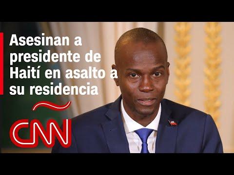 Asesinan al presidente de Haití, Jovenel Moïse, durante un asalto en su residencia