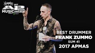 APMAs 2017 Best Drummer: FRANK ZUMMO of SUM 41