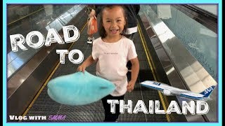 Road to THAILAND | Airplane Journey | Vlog With Emma