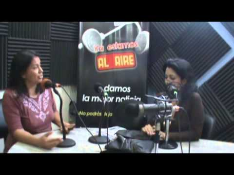 entrevista Radio Santiago  mujeresTEA