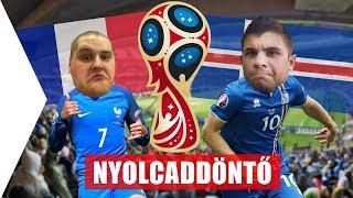 FRANCIAORSZÁG - IZLAND | Nyolcaddöntő | VB 2018